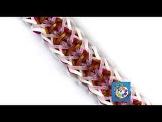 "Rainbow Loom Bracelet ""SIERA STRONG"" (Original Design) (ref #3Suu) - YouTube"