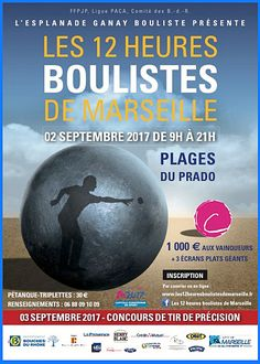 """""""12 heures boulistes de Marseille - Une nouvelle édition caritative"""""""