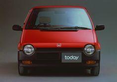 ホンダ トゥデイ 1985-'88 (出典:favcars.com)