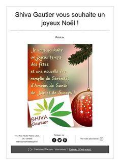 Shiva Gautiervous souhaite un joyeux Noël ! Gautier, Biologique, Shiva, Merry Little Christmas, Hair, Lord Shiva