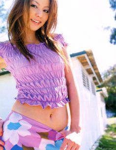 香里奈 へそチラ Picture Blog, Fan Picture, Flower Skirt, Japanese Models, Black Bikini, Sweet Girls, Asian Beauty, Actresses, Crop Tops