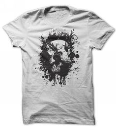 Skull Grunge T Shirt Click HERE To See More Colors http://www.teekeep.com/skull-grunge-t-shirt/