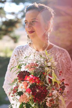 Eclectic & Bohemian Wedding || Jane in the Woods || Sedona & Destination Wedding Photographer || Backyard Campfire Wedding in Eugene, Oregon