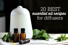 essential oil recipes for diffusers