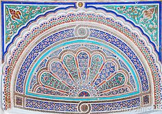 Moroccan style ceramic mosaic - Best of Marocco