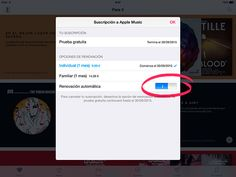Como desactivar la renovación automática de Apple Music http://blogueabanana.com/tecnologia/renovacion-apple-music.html