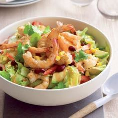 Mexican-style prawn and avocado salad | Healthy Food Guide