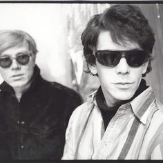 Warhol and Lou Reed
