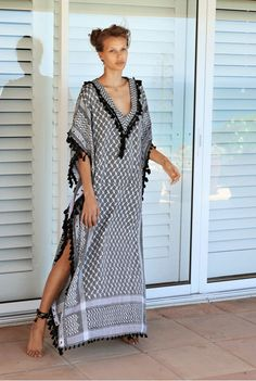 Dodo Bar Or is an actress and designer from Tel Aviv and an Israeli fashion icon recently voted best-dressed of the decade by her native press. Beachwear Fashion, Abaya Fashion, Boho Fashion, Fashion Dresses, Caftan Dress, Boho Dress, Night Gown Dress, Mode Kimono, Indian Outfits