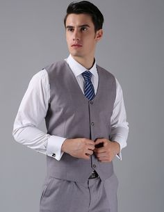 Free Shipping Men Slim Fit Vest  SV 0014 Italian Designer Mens Vest 2015 Four Button Light Grey Suit Vest for Men-in Vests from Men's Clothing & Accessories on Aliexpress.com   Alibaba Group
