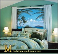 Decorating theme bedrooms - Maries Manor: creative windows - window decorations - window wallpaper - decorative window decor - creative doors