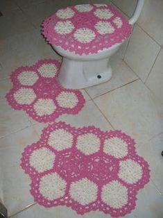 Resultado de imagem para novos jogos de banheiros croche