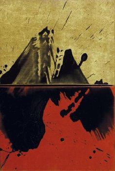 Fabienne Verdier - Contemporary Artist - L'art de la calligraphie monumentale - Etat d'ailleurs: Mont - 2006