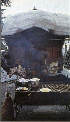Cabin Living via Jenny
