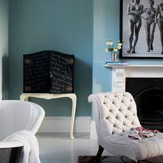 victorian house paint schemes white gray | Bathroom | Edgy Victorian house tour | housetohome.co.uk