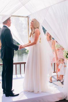 Photo: Corbin Gurkin like this setup for the ceremony Wedding Ceremony Backdrop, Wedding Ceremonies, Australian Fashion Designers, Cat Wedding, Destination Wedding Inspiration, Bridal Gowns, Wedding Dresses, Wedding Photos, Wedding Ideas