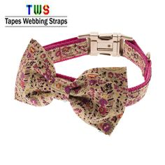 Pink printed dog collar for little puppies.   For more details click on the below link or call us on +9833884973/9323558399  http://tapeswebbingstraps.in.cp-28.webhostbox.net/  Courtsey : Tapes Webbing straps