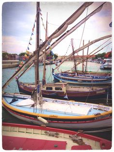 Barques catalanes, Frontignan, France #welovefrontignan