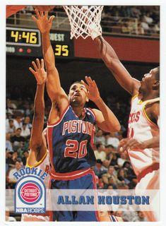 Allan Houston RC # 332 - 1993-94 Skybox Hoops Basketball NBA Rookie