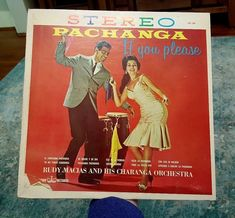 "Rudy Macias and His Charanga Orchestra ""Pachanga If You Please"" Vinyl LP STEREO #CubanSonMamboSalsa"