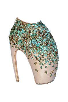 Alexander McQueen Armadillo Heels