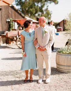 Pretty blue mother of groom dress