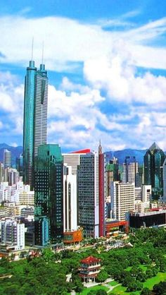 Shenzhen, China, Asian, Geography, Modern, City