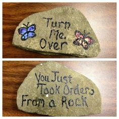 Fun rock. Would be a great white elephant gift at Christmas.