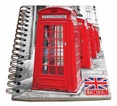 Spirálový blok - Welcome to London č. Jukebox, A5, London, London England