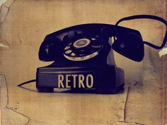 Telephone so old Retro Phone, Telephone, Landline Phone, Retro Vintage, Android, Artsy, App, School, Design