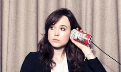 """But how could it be any more obvious that we live in a patriarchal world when feminism is a bad word?"" - Ellen Page in The Guardian newspaper."