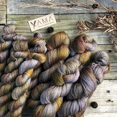 Shield Maidens⚔️ Yama Merino Mohair Cobweb ~ 800m/100gram 🕸 a beautiful soft 2ply fine lace perfect for holding double with a singles yarn…