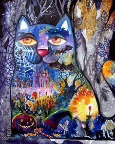 """""""Halloween"""" par Oxana Zaika"""