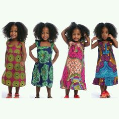 adorable dresses in African prints