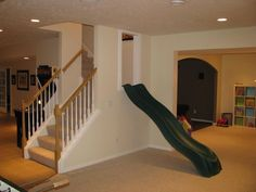 Stunning Basement Playroom Decorating Ideas 13