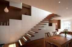 Escaliers flottants fabuleux suspension de style