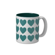 Green Hearts Coffee Mug => http://www.zazzle.com/green_hearts_coffee_mug-168663868537106565?CMPN=addthis&lang=en&rf=238590879371532555&tc=pinHTMgreenhearts