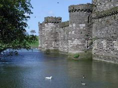 Beaumaris, begun in 1295, was the last and largest of the castles to be built by King Edward I in Wales.
