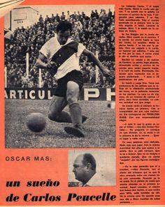 El Humor de las villas: 1964-Oscar Mas debuta en River