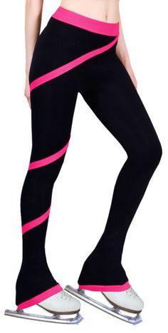 Cheap Niñas entrenamiento de patinaje artístico pantalones con banda de moda nueva marca competencia de patinaje artístico vestido J1015, Compro Calidad   directamente de los surtidores de China:                                         Figura personalizada pantalones para niños hermosa nueva marca de patinaje sobre