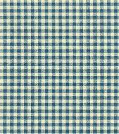 Home Decor Fabrics-Waverly Cheerful Check Chambray Fabric Waverly Fabric, Chambray Fabric, Blue Gingham, Gingham Check, Home Decor Fabric, Bleu Marine, Home Buying, Upholstery, Fabrics
