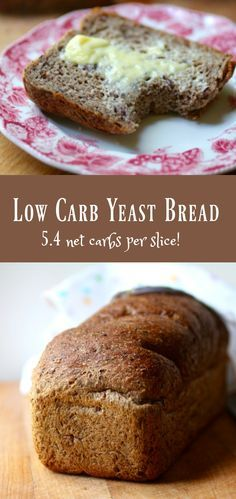 Best low carb yeast bread recipe is light, fluffy, and Atkins friendly! 5.4 net carbs. from lowcarb-ology.com via @Marye at Restless Chipotle