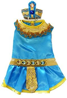Cleopatra Costume for Dogs Size 6 16 l x 205  2325 g >>> Click image for more details. This is an Amazon Affiliate links.