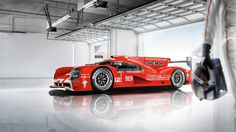 To the love of all things Porsche : Photo Le Mans, Porsche 919 Hybrid, Rally Car, Race Cars, Racing, Vehicles, Red, Drugs, Garage
