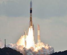 14 Şubat'ta Japonya'dan Uzay'a gönderilecek olanAstro-H uydusunu hava şartları nedeniyle gönderememişti. Aynı zamanda gönderme tarihi ertelenmişti.