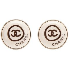 CHANEL VINTAGE clip on earrings ($33,400) ❤ liked on Polyvore