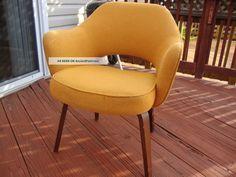 Mid Century Vintage Knoll Saarinen Executive Chair Post-1950 photo