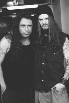 Tom Araya & Phil Anselmo! \m/