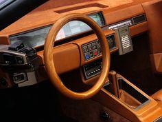 1980 lambo athon speedster concept interior