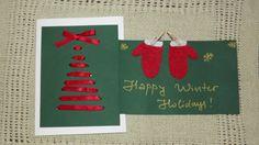Christmas cards Advent Calendar, Christmas Cards, Holiday Decor, Winter, Happy, Artist, Handmade, Home Decor, Christmas Greetings Cards